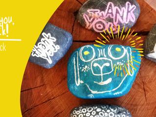EP19: Thank you, you rock! A project inspiring Gratitude