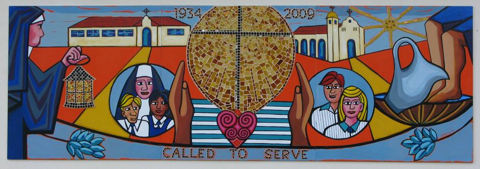 St. Peters mural