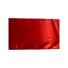 32.5cm TABLE RUNNER (RED SATIN)