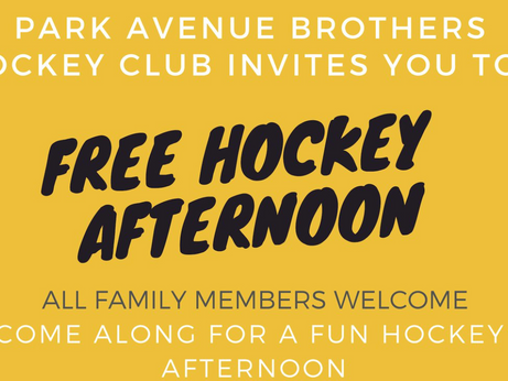 FREE Hockey Afternoon