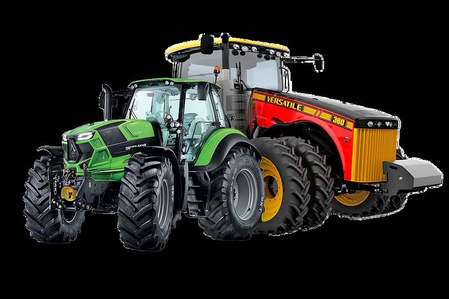 Farm and Construction Tractors Emerald