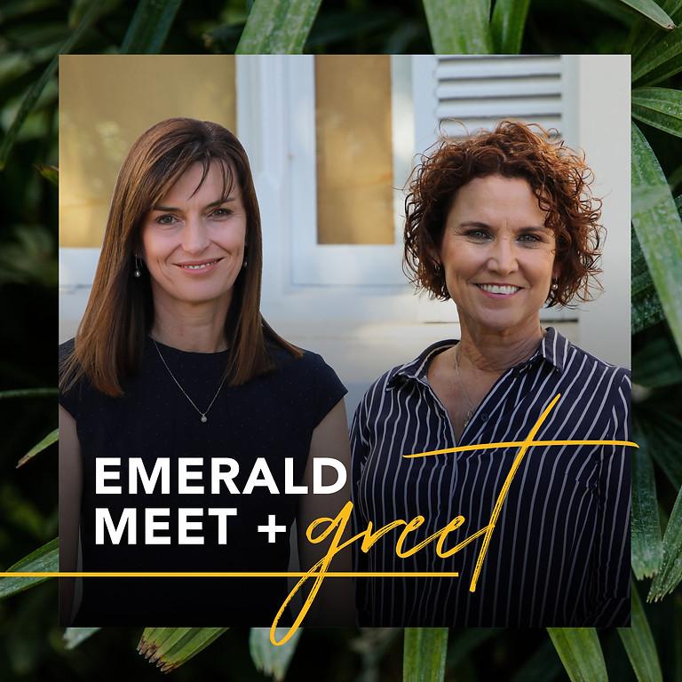 Emerald Meet + Greet