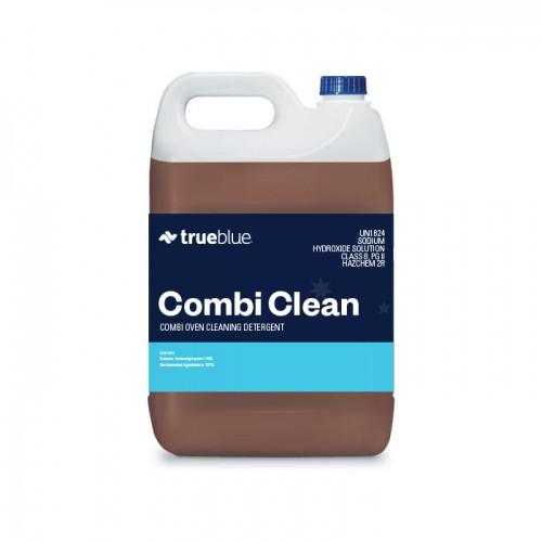 Combi oven cleaning detergent