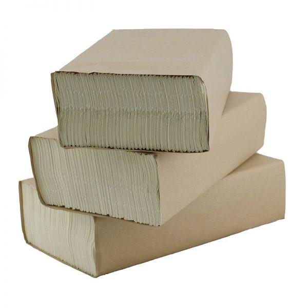 Ultra Slim Unbleached Paper Hand Towels
