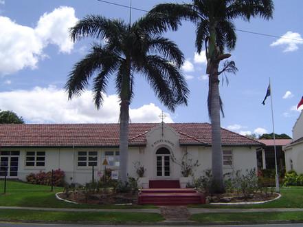 Front of school 2001