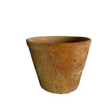 RUSTIC TERRACOTTA POT (12.5cm x 15.5cm)