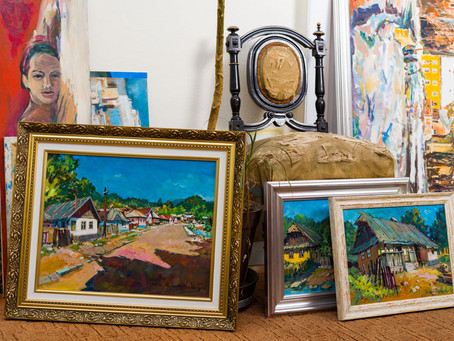 How to start collecting art