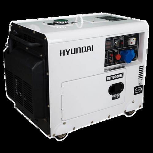 8kVA Hyundai DHY8500SE