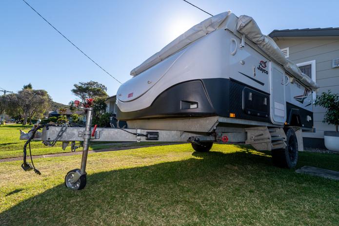 Elecbrakes on caravan