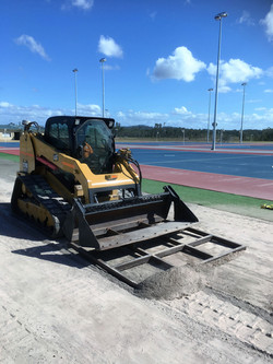 Multisports Precinct Construction