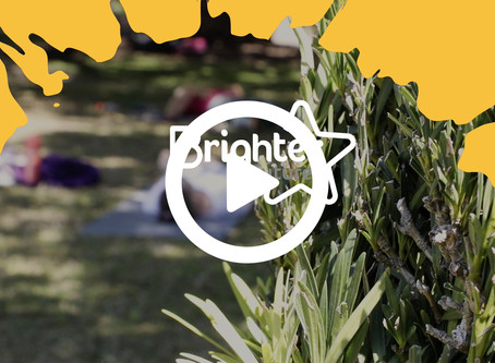 WATCH: Yoga at the Gardens!