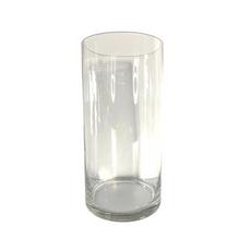 LARGE GLASS CYCLINDER VASE (30cm x 15cm)