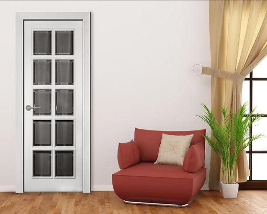 Дверь остекленная RB1S