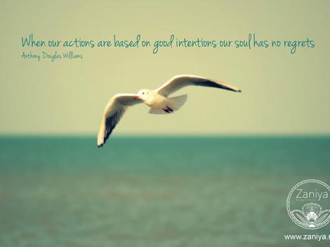 Zie je intentie en doorbreek je twijfel en angst