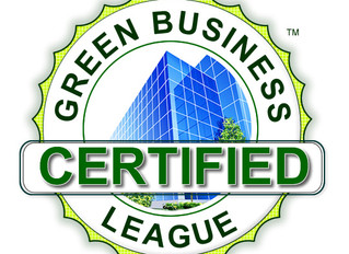 """Green Business League's """"Green Business of the Year"""""""