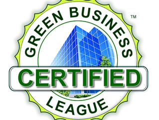 "Green Business League's ""Green Business of the Year"""