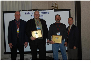 AMS Earth Movers Wins LCCA Safety Award