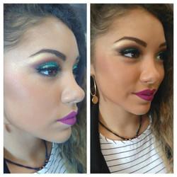 Maquillage tendance (démo école)