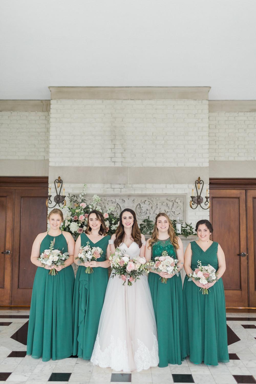 Bride and Bridesmaids Indianapolis