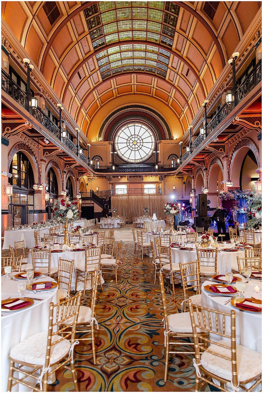 Crowne Plaza Wedding Reception