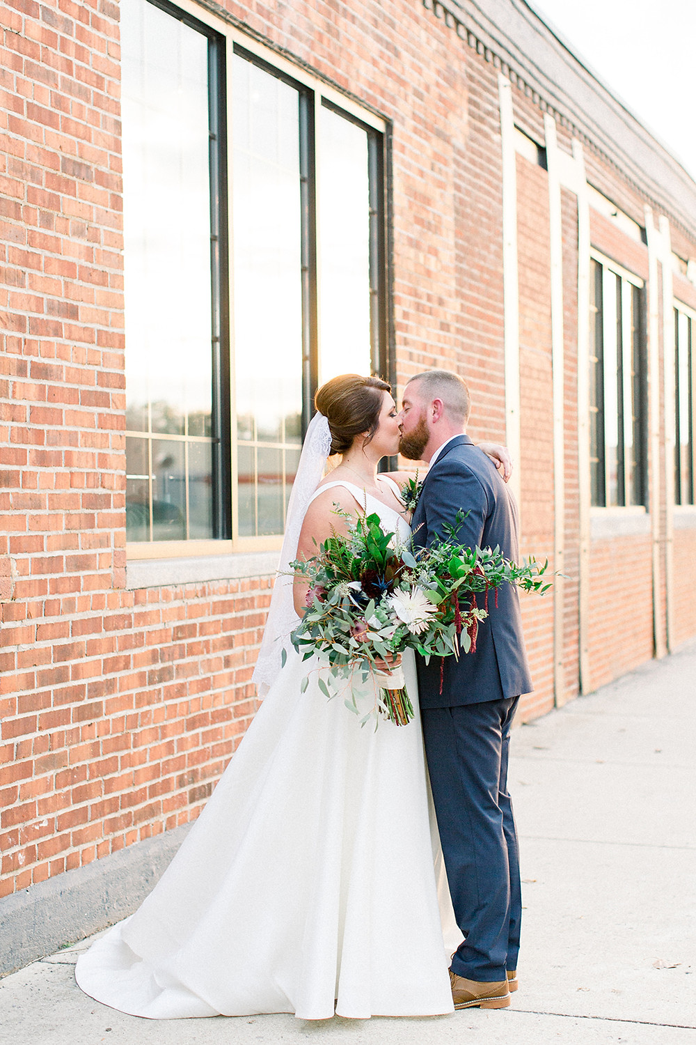 Industrial Chic Indianapolis Wedding