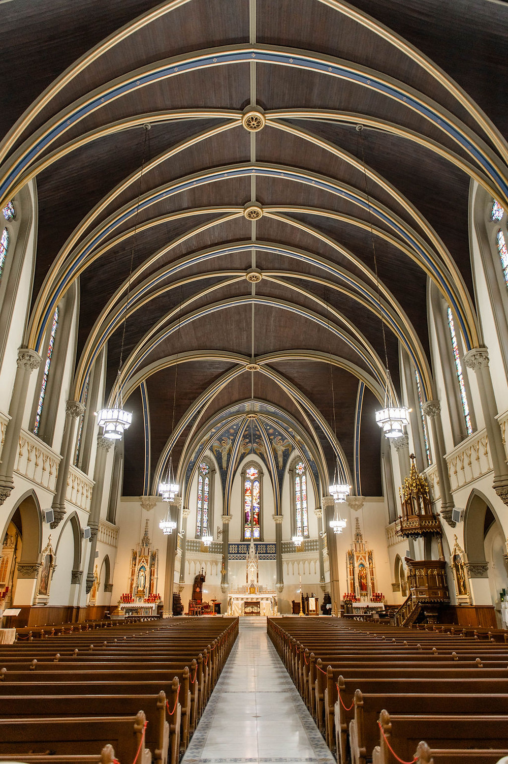 Indianapolis Catholic Wedding