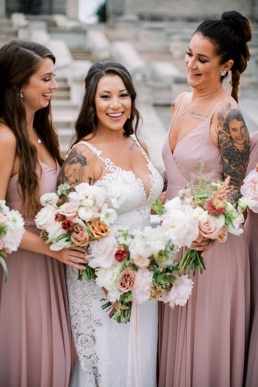 Mauve Bridesmaids