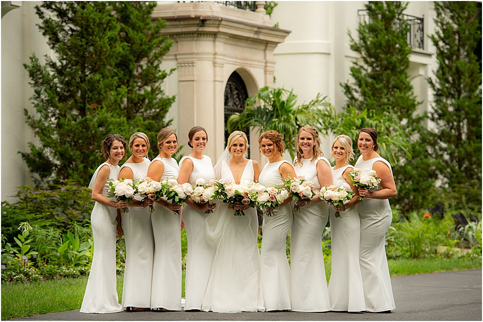 Newfields Bride and Bridesmaids