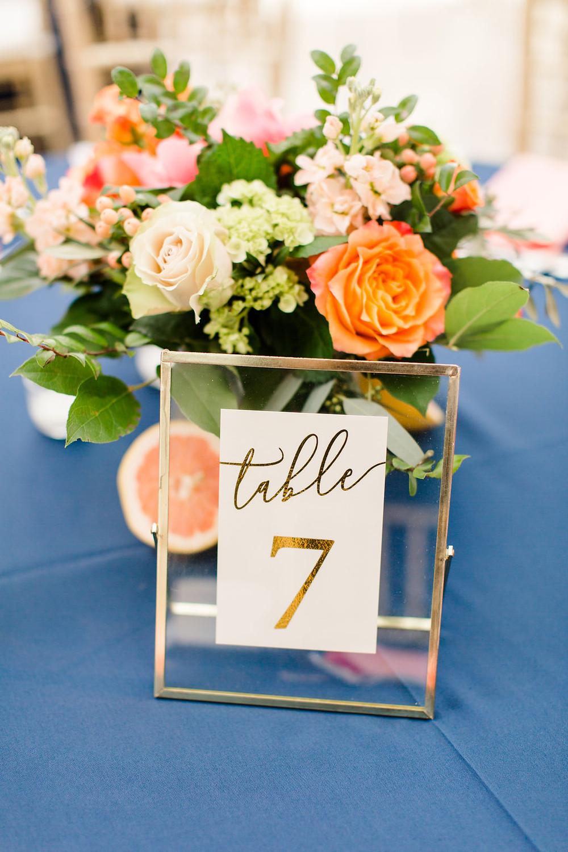Indianapolis Wedding Reception Flowers