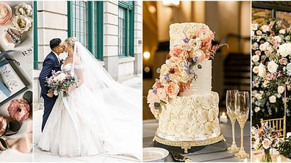Union Station Grand Hall | Indianapolis Wedding Planning & Design | Raegan & Everardo