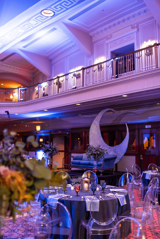 Hilbert Circle Theatre Wedding Reception