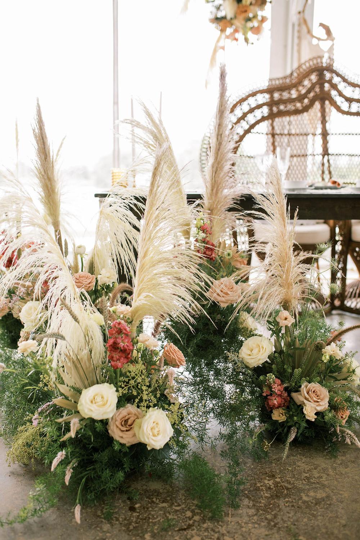 Boho Wedding Recpetion