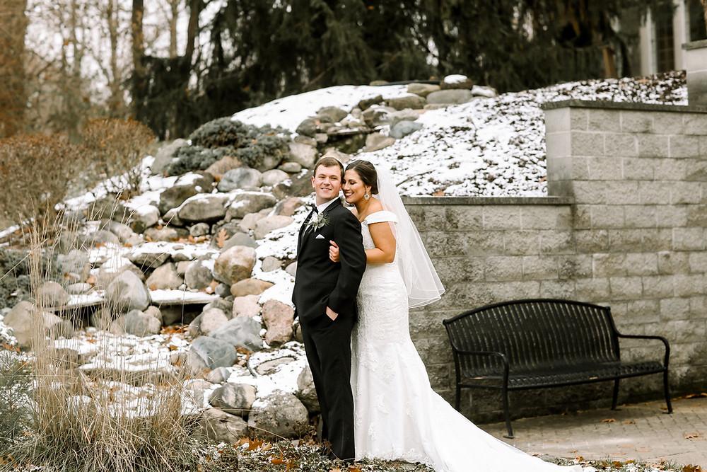 Winter Wedding Laurel Hall