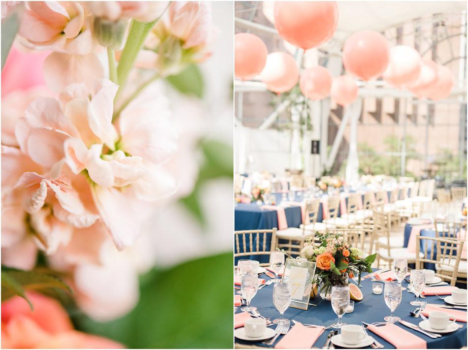 Indy Artsgarden Wedding Reception