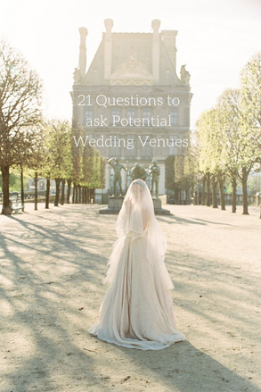 21 Questions to Ask Potential Wedding Venues Before Booking | Wedding Planning Tips & Tricks