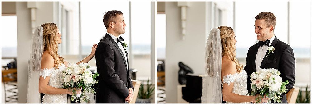 Indianapolis Wedding First Look