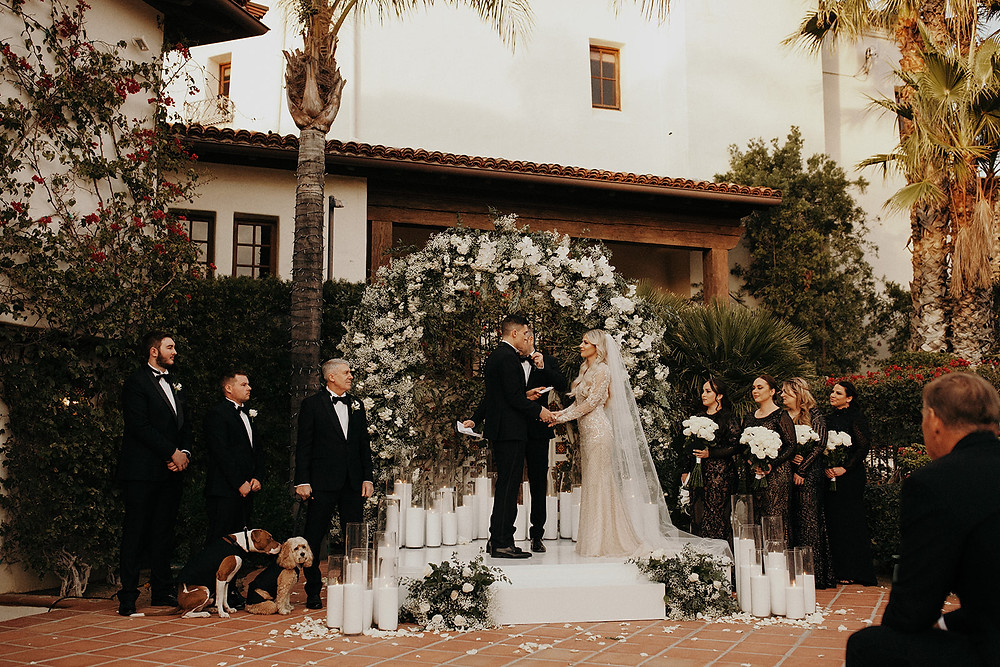 Destination Wedding at Hummingbird Nest Ranch