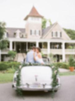 Magnolia Plantation bride and groom