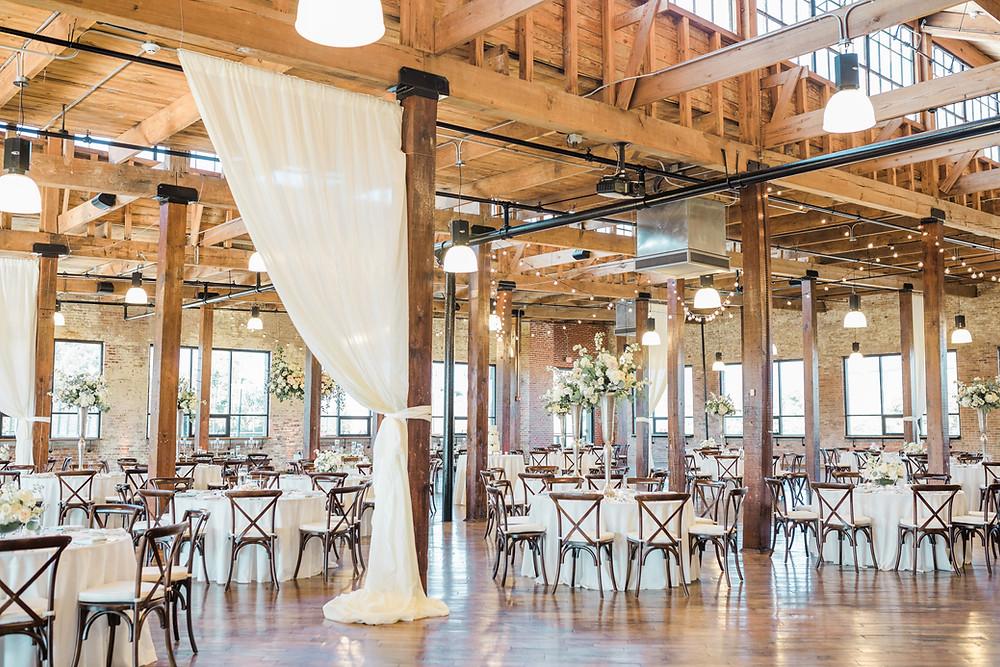Wedding Draping Modern Venue