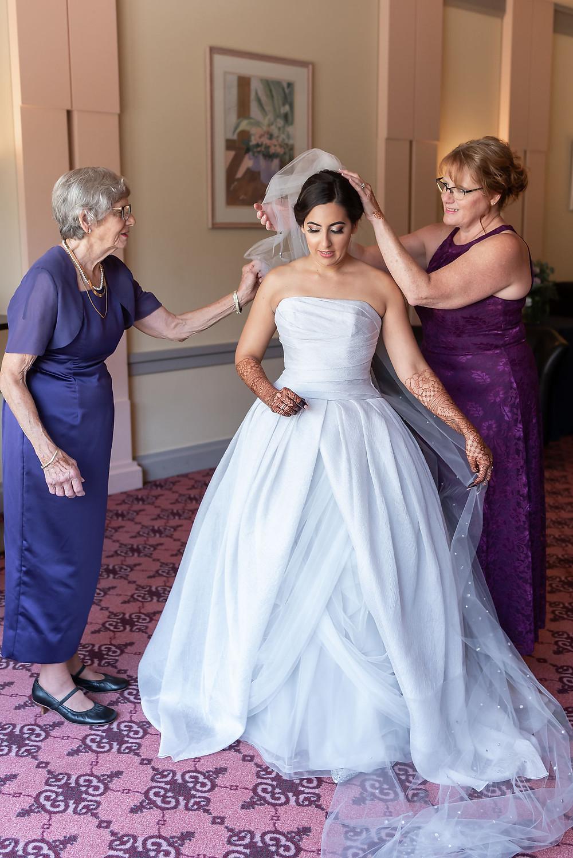 Putting in Bridal Veil