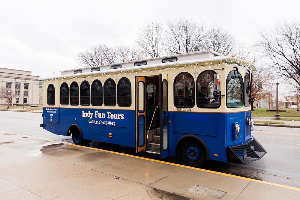 Indy Fun Tours Trolley