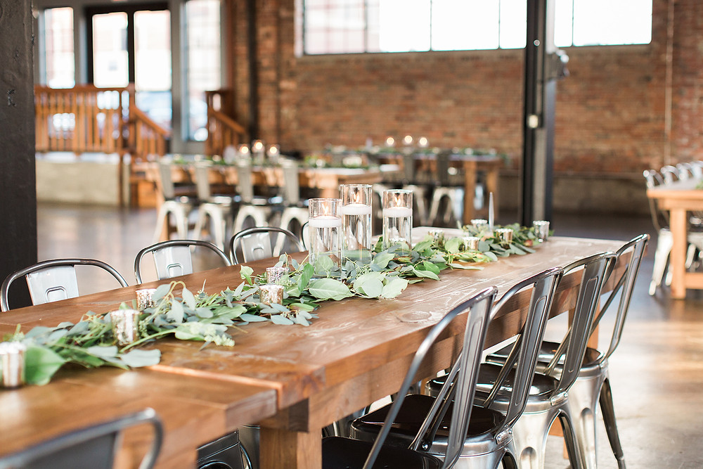 Industrial Chic Indy Wedding