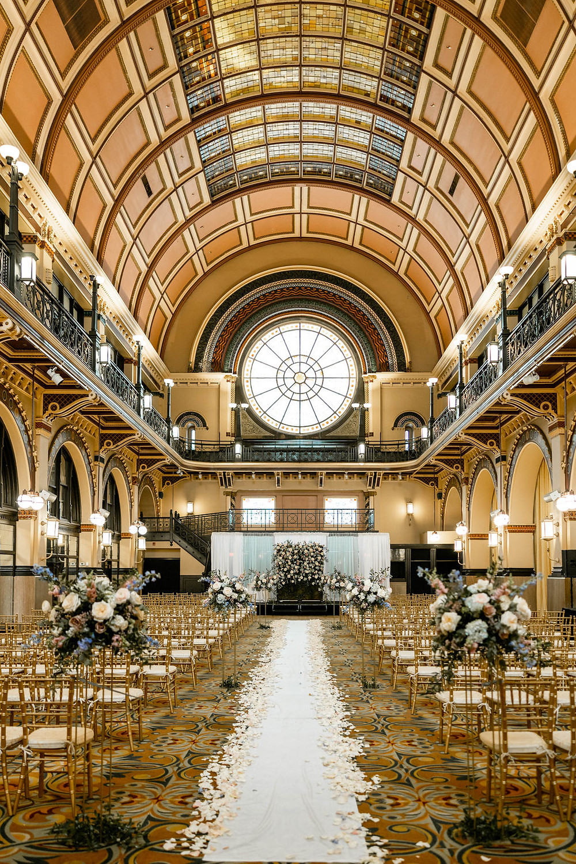 Union Station Grand Hall Wedding Ceremony