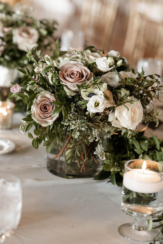 Low Wedding Centerpiece