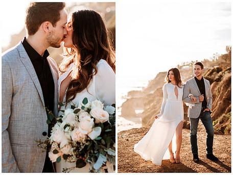 Malibu Engagement Session | Bret & Marlene | Destination Wedding Planner