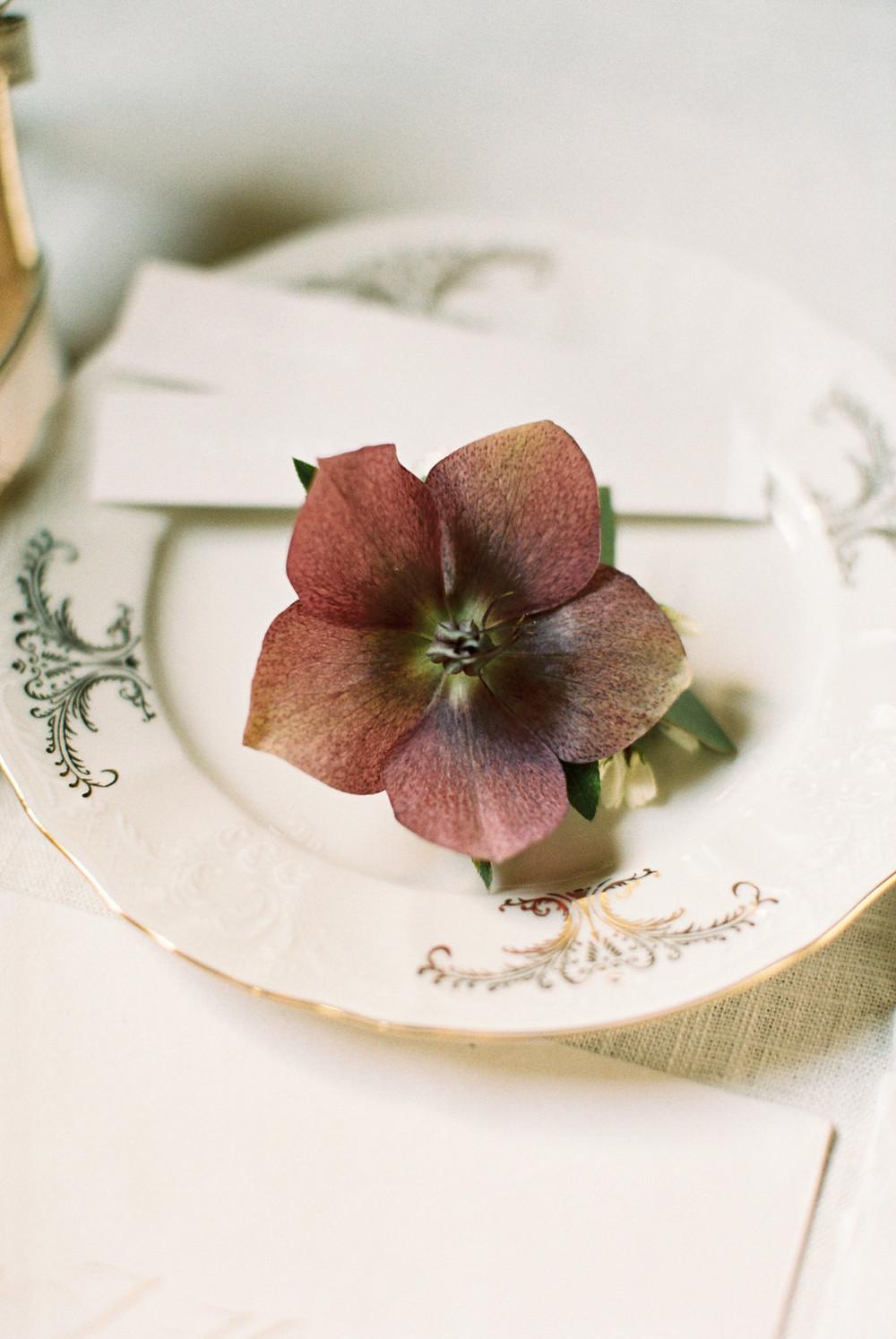 Vintage Wedding Plates