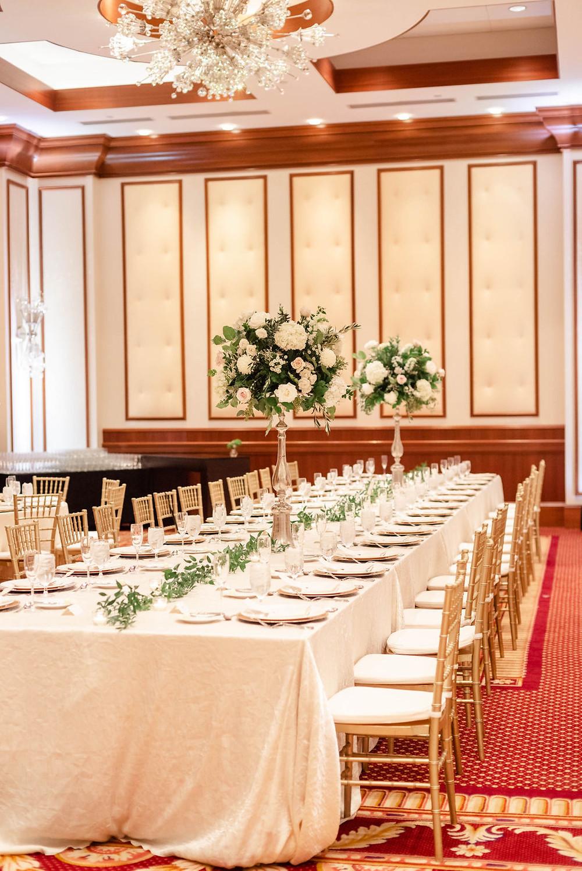 Conrad Indianapolis Wedding Dinner