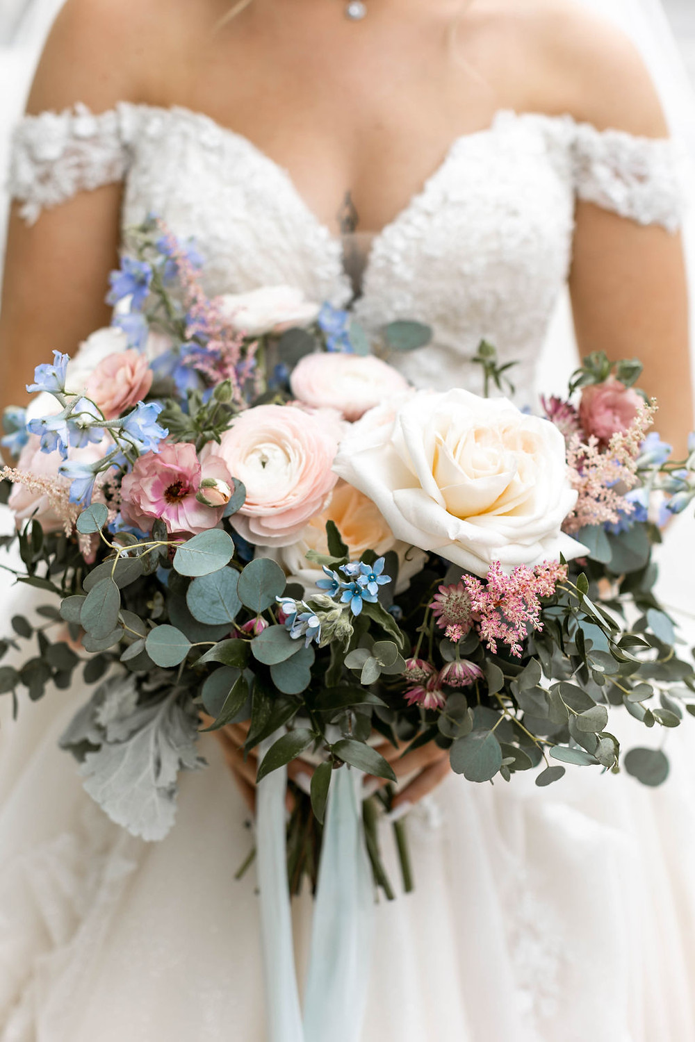 Blush and Dusty Bouquet