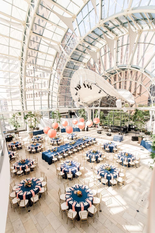 Indianapolis Artsgarden Wedding