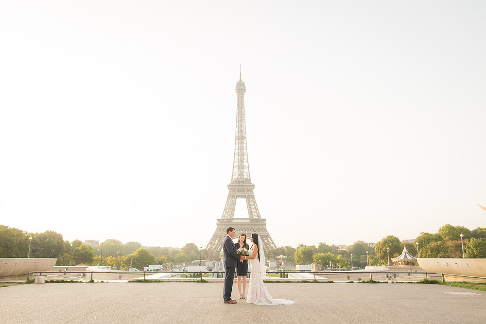 Paris Wedding Elopement